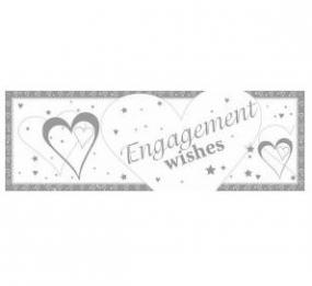 Engagement Giant Banner - Hearts and Stars