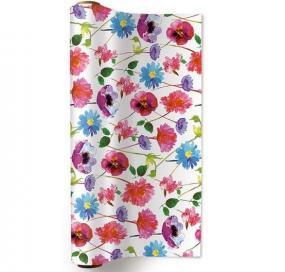 Spring Flowers Design Paper Table Runner