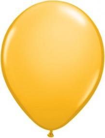 Metallic Gold Latex Balloons Pack 25