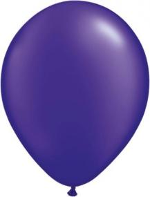 Pearl Purple Latex Balloons Pack 25